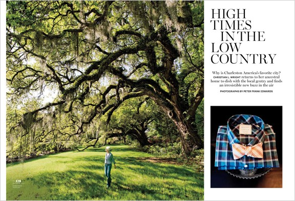 Conde Nast Traveler, Dec. 2013, Peter Frank Edwards Photographs