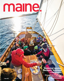 Maine, the magazine. Cover photo by Peter Frank Edwards Photographs
